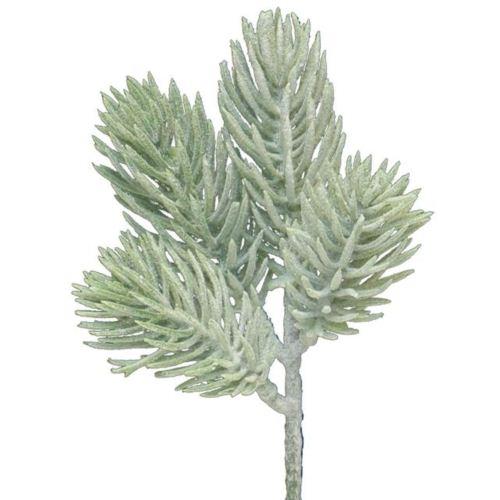 Pine pick Paix 25cm green w/snow