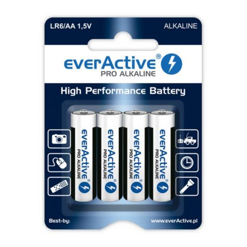 BATERIE LR6 AA 1,5V everActive 4SZT/bl.