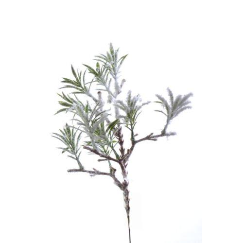 """GAŁĄZKA """"rozmaryn"""" śnieg 29cm"""