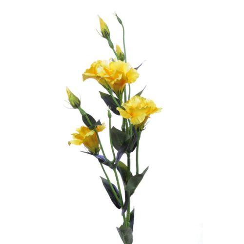 Eustoma gałązka 83cm sun345 yellow