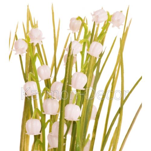 Lily of the valley in grass  24 cm