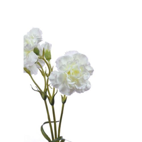 Goździk gałązka x5 62cm SUN405 920 white