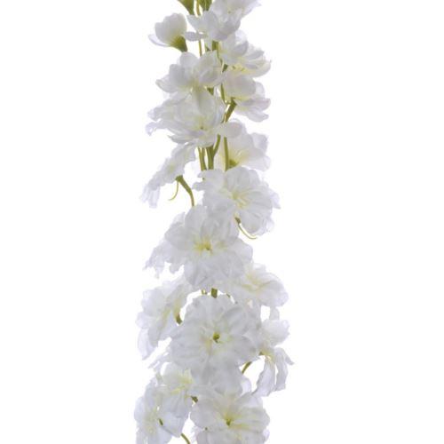 Ostróżka pojedyncza 120cm SUN302 white cream