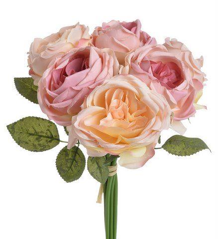 Bukiet roz x6 28cm