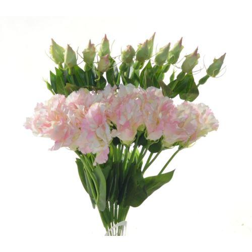 Eustoma spray x2 48cm sun357 2296 pearl pink
