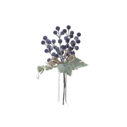 Pik z kulkami  22cm blue violet
