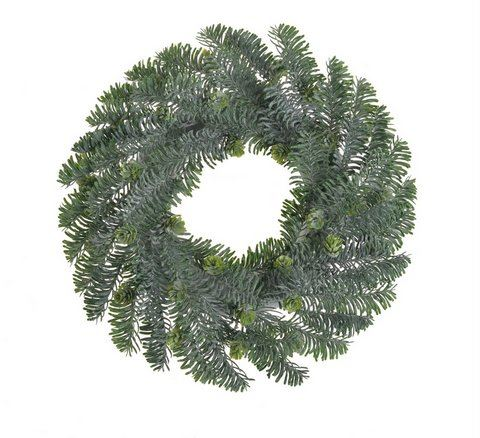 Wianek świerk 30 cm green
