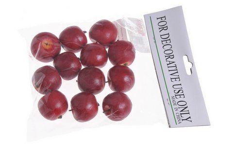 Jablko srednie 12szt/pacz -sztucz. owoc RED