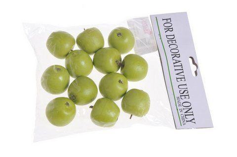 Jablko male 12szt/pacz -sztucz. owoc GR 35mm
