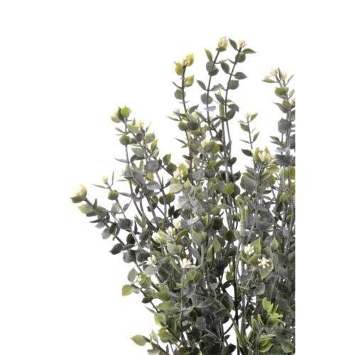 Dodatek drobne  listki x12 42cm white
