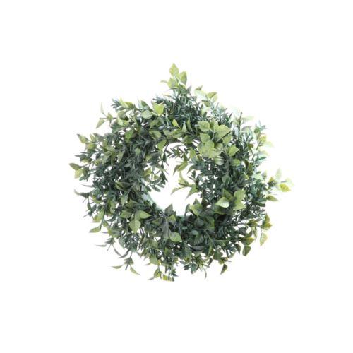 Wianek ruskus drobny 23 cm green