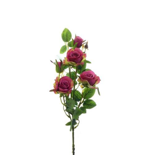 Róża ogrodowa drobna gałązka 72cm xh-29 16 pink