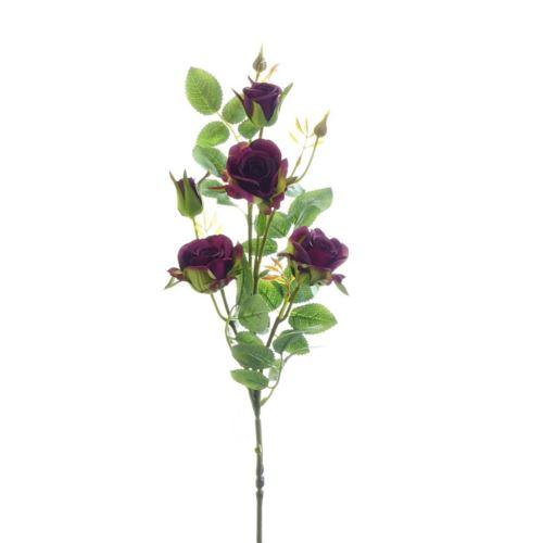 Róża ogrodowa drobna gałązka 72cm xh-29 11 burgun
