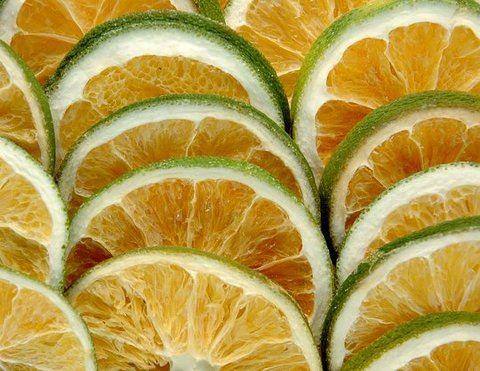 Orange sliced green - Plastry Pomarańczy 1kg/susz