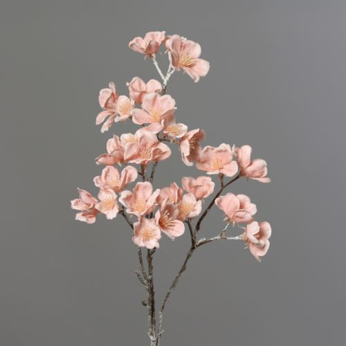 Cherry blossom spray with Ice 51 cm pink