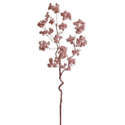 Glimmer-Beerenzweig 2-f.  68Cm rose-glimm
