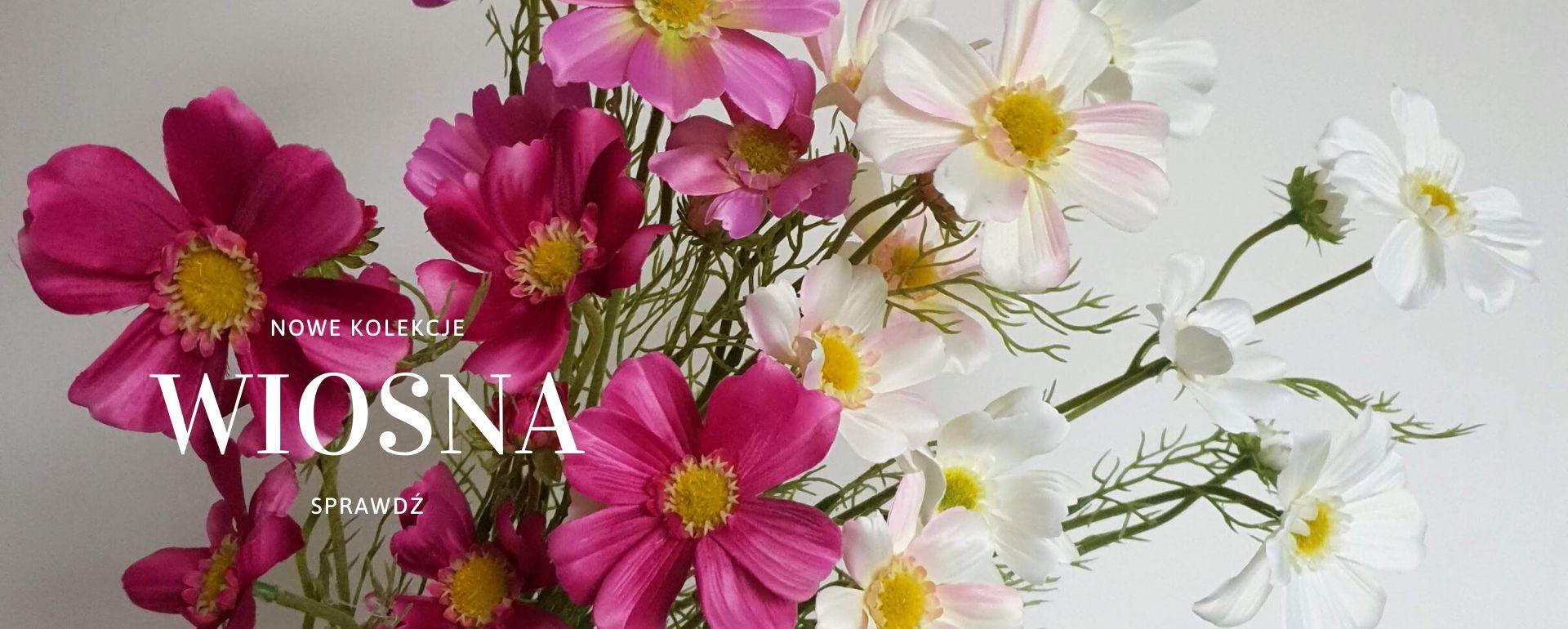 sztuczne kwiaty wielkanoc wiosna 2020